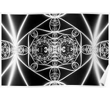 Bright Filaments Poster