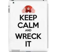 Keep Calm and Wreck it iPad Case/Skin