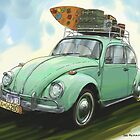 VW Beach Party Bug  by RGMcMahon
