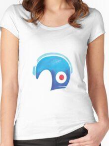 Mega Man Helmet Shirt or Hoodie Women's Fitted Scoop T-Shirt