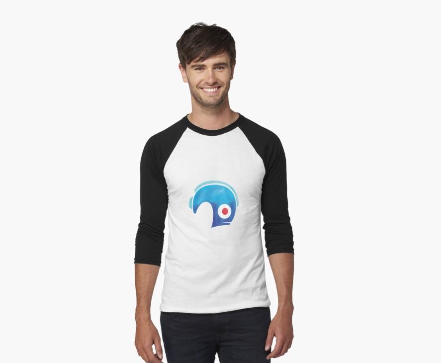 Mega Man Helmet Shirt or Hoodie by thedailyrobot