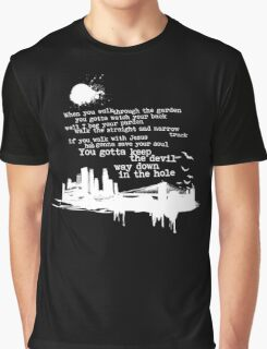 "Way Down In The Hole"" - The Wire - Light Graphic T-Shirt"