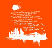 """Way Down In The Hole"""" - The Wire - Light Kids Tee"""