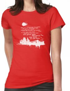 """Way Down In The Hole"""" - The Wire - Light Womens Fitted T-Shirt"""