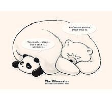 The Hibernator Photographic Print