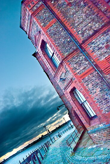 Liverpool Brickwork by Sue Knowles