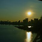 Manhattan Sunset  by skylark1210