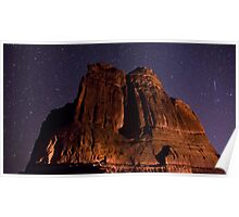 Shooting Star. Canyonlands National Park Poster