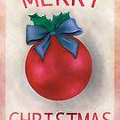 'Christmas Bauble'  by Valena Lova