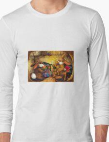 HOLIDAY SEASON IN THE RABBIT HOLE Long Sleeve T-Shirt