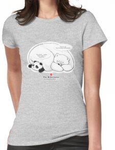 The Hibernator Womens Fitted T-Shirt