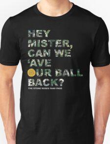 Hey Mister / Black Unisex T-Shirt