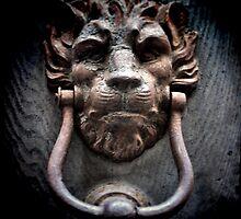Lionman Knocker by Karen Lewis