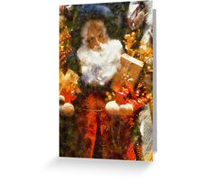 Here Comes Santa Claus! Greeting Card