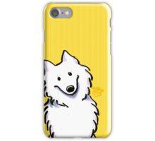 Samoyed Sunshine Stripes iPhone Case/Skin