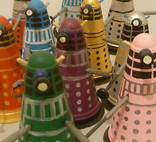 Daleks by twohearts2