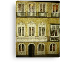 Dollhouse, Malaga, Spain Canvas Print