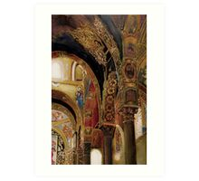 Byzantine Art Print