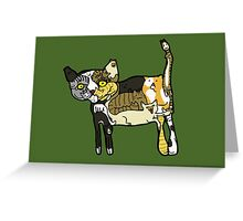 Too Many Cats Greeting Card