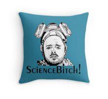 Aaron Paul, Jesse Pinkman - Breaking Bad, Science Bitch! Throw Pillow