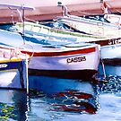 Cassis Harbour by Donna Jill Witty