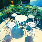 Chairs and Olives by Donna Jill Witty