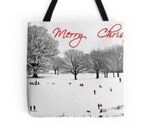 Christmas Sledging Tote Bag