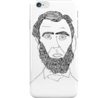 Abe Lincoln Portrait iPhone Case/Skin