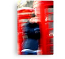 """London Phone Booth"" Canvas Print"