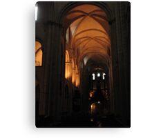 Caen Men's Abbey Canvas Print
