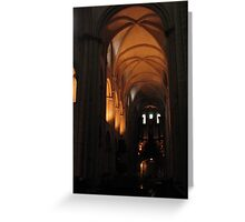 Caen Men's Abbey Greeting Card