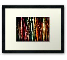 Pillars of Light.... Framed Print