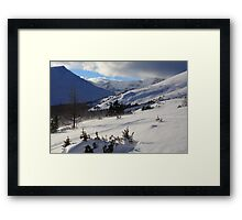 Windy Framed Print