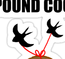 Coconuts Do Not Migrate Sticker