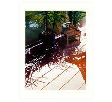 Eden Pines Morn Art Print