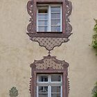Two Decorated Windows by Yair Karelic