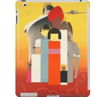 Vintage poster - Oriental Tourist Conference iPad Case/Skin