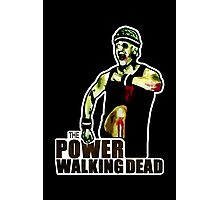 The Power Walking Dead (on Black) [ iPad / iPhone / iPod Case | Tshirt | Print ] Photographic Print