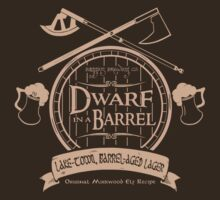 Dwarf in a Barrel by TeeHut
