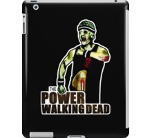 The Power Walking Dead (on Black) [ iPad / iPhone / iPod Case | Tshirt | Print ] iPad Case/Skin