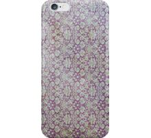 Vintage Light faded purple grunge wallpaper ipad iphone case cover iPhone Case/Skin