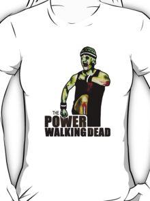 The Power Walking Dead (on Black) [ iPad / iPhone / iPod Case | Tshirt | Print ] T-Shirt