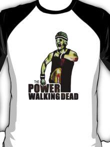 The Power Walking Dead (on Black) [ iPad / iPhone / iPod Case   Tshirt   Print ] T-Shirt