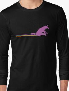 GO SHIT SOME RAINBOWS Long Sleeve T-Shirt