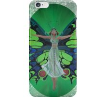 Art Deco Fantasy Fashion Happy Birthday Greetings iPhone Case/Skin