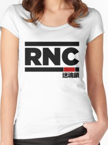Rear Naked Choke (RNC) Women's Fitted Scoop T-Shirt