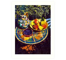 Frutta Due Art Print