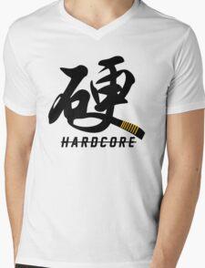 Hardcore (Martial Artist) Mens V-Neck T-Shirt