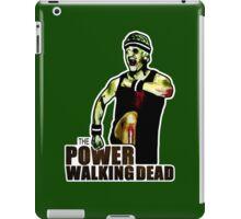 The Power Walking Dead (on Green) [ iPad / iPhone / iPod Case | Tshirt | Print ] iPad Case/Skin