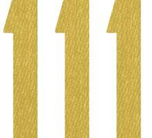 Fallout 4 - Vault 111 logo Sticker